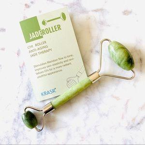 KRASR Natural Chi Jade Roller Beauty Therapy NIB